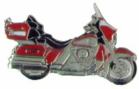 AS HARLEY E-Glide Classic rot Keyring