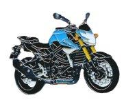 AS SUZUKI GSR 750 blau Mod.2012 Keyring