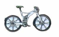 AS Sonstiges E Bike Fahrrad weiß Keyring