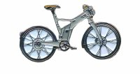 AS Sonstiges E Bike Fahrrad grau Keyring