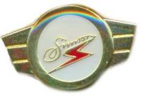 AS SIMSON Kleinkrafträder gold Keyring