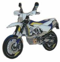 AS HUSQVARNA 701 Super Moto weißgelb Keyring