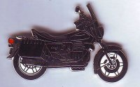 AS Moto Guzzi 850 T2 California sw. Keyring