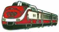 AS Diesel-Triebwg. TEE VT 11,5 rot/weiß Keyring