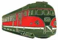 AS Diesel-Triebwg. 613 rot/schwarz Keyring