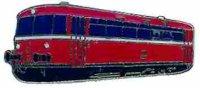 AS Diesel-Triebwg. 798815 rot Keyring