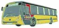 AS Bus 3612 TEC gelb* Keyring