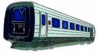 AS Diesel-Triebwg. IC 03 DSB 5281* Keyring