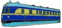 AS Diesel-Triebwg. SVT 137 225 blau* Keyring