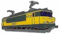 AS E Lok Serie 1600 Niederlande Keyring