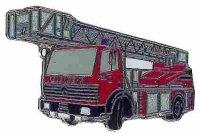 AS Feuerwehr DLK23-12/MB 1422 Bj.92* Keyring