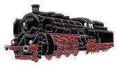 AS Dampfl. 18505 schwarz/rot* Keyring
