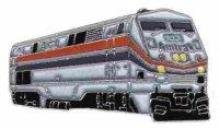 AS Diesell.  Amtrak silber/rot/blau* Keyring