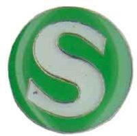 AS S-BAHN Logo* Keyring