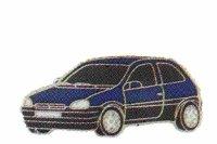 AS Opel Corsa blau/94* Keyring