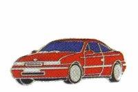AS Opel Calibra rot* Keyring