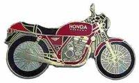 AS HONDA CB 250 Clubmann rot*