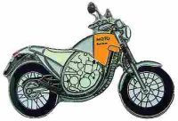 AS APRILIA Moto 6,5 silber/orange*