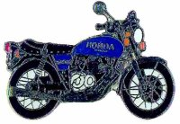 AS HONDA CB 400 Four blau