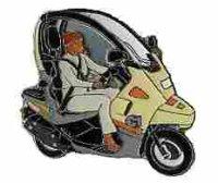 AS BMW C 1 gelb*
