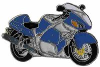 AS SUZUKI GSX 1300 R Hayabusa blau 2002*